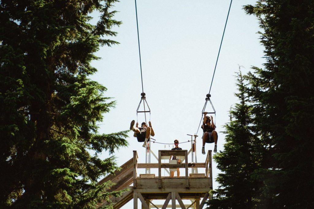 Grouse Mountain Zipline